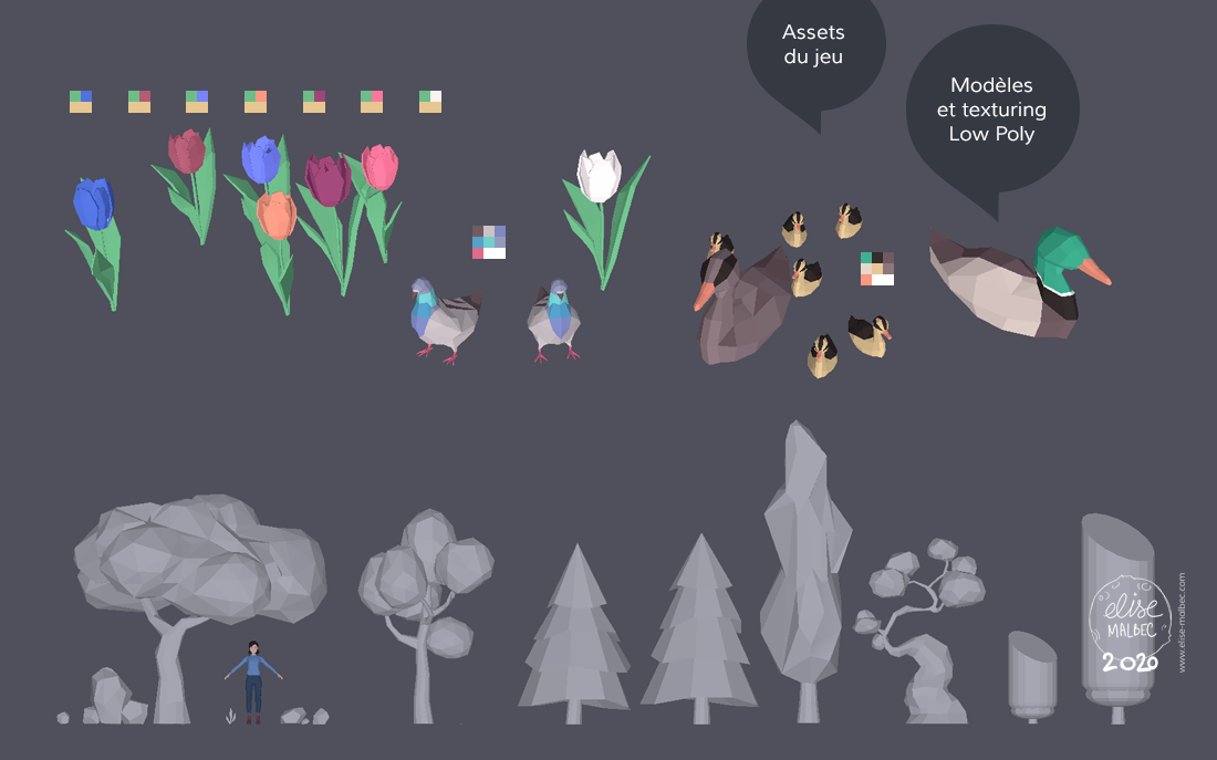 Assets low poly