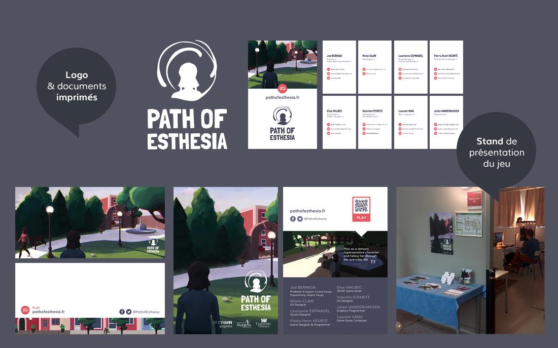 Path of Esthesia Print